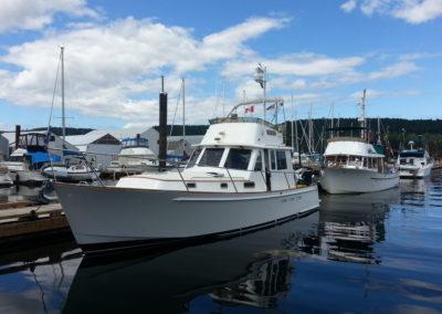 Sailing vessel Splendido, Seattle Sailing Charters