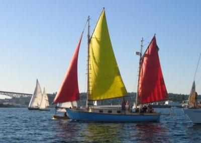 Bimi Lake Union on a Sailing Charter