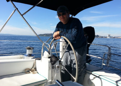 Photo ops abound on a sailing charter!