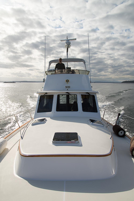Splendido, Seattle Sailing Charter's power yacht